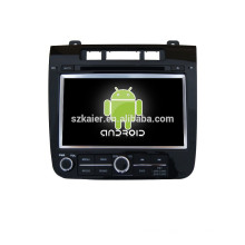 7inch car dvd player GPS for VW touareg with mirror-link car gps