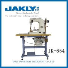 Pour chaussures en cuir vamp Machine à coudre à trois aiguilles JK-654