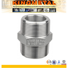Stainlss Steel Hexagonal Equal Nipple