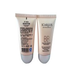 maquillaje bb crema envase de plástico tubo de plástico