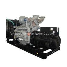 Diesel de la planta eléctrica del poder de emergencia de 1200kw 1500kVA con el motor de Perkins