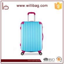 Цвет блокирование Молодежные путешествия тележка чемодан багажа ABS красочные