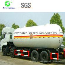 30.4m3 Depósito de GLP de Capacidad de Agua para Transporte de GLP