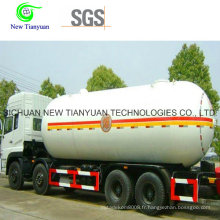 30,4 m3 Capacité d'eau Réservoir de stockage de GPL pour transport de GPL