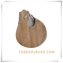 Planche à découper de planche à découper en bambou pour les cadeaux promotionnels (HA88012)