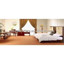 Luxus Holz Hotel Schlafzimmer setzt XY2929