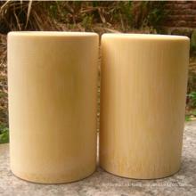taza de gárgaras de bambú natural personalizado
