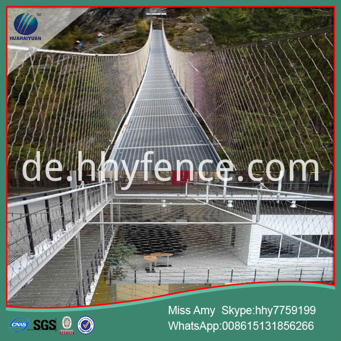Sus304 Wire Rope Netting