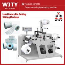 Cortadora de etiquetas en blanco y cortadora rotativa