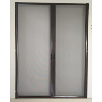 Aluminum custom double screen doors