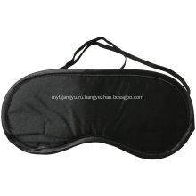 Комфортная черная маска для глаз для сна