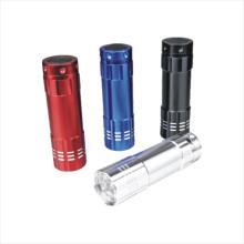 Dry Battery Aluminum LED Flashlight (CC-7002)