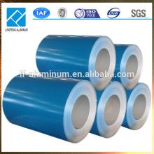 Bobine de toiture en aluminium prépainée PVDF et PE en provenance de Chine