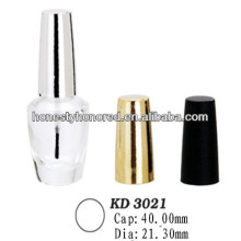 Shiny Colored ABS Nail Polish Cap Wholesale