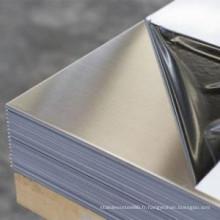 ASTM Standard 200, 300, série 400 en acier inoxydable plaque / plaque
