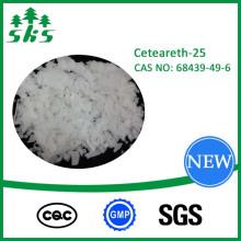 Cuidado del cabello Ceteareth-25 White Flake Cas: 68439-49-6 Envío en línea