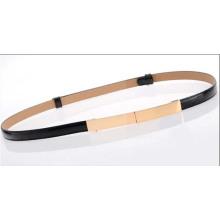 2014 hangzhou hot selling leather ladies' slim belt