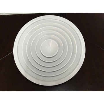 Wall Mounted Ventilation Products Aluminium Supply Floor Round Diffuser