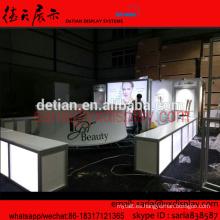 Saria proporciona un sistema de stand comercial para IGEL Beauty, un sistema de diseño de stand 3D en Shanghai desde la fábrica de stands