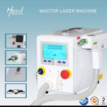 Máquina profesional del tratamiento de la eliminación del laser del tatuaje de Mastor