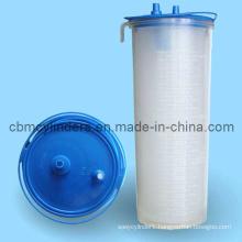 Medical Suction Jar 2L for Hospital Bed Head Units