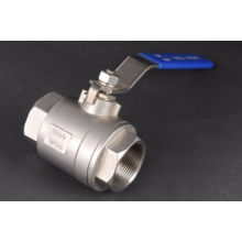 Stainless Steel 2PC Thread Ball Valve