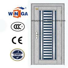 Porte de sécurité en acier inoxydable extérieur extérieur du Moyen-Orient (W-GH-15)