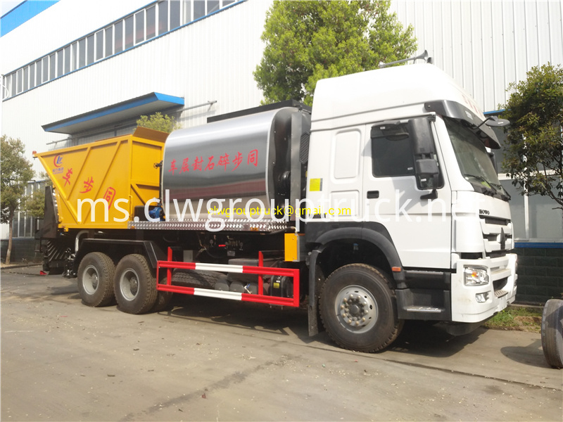 Synchronous Sealer Gravel Truck 4