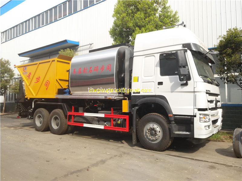 HOWO 6X4 Synchronous Chip Truck Truck