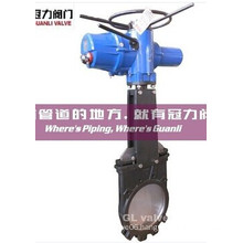Ductile Iron Wafer Type Knife Gate Valve