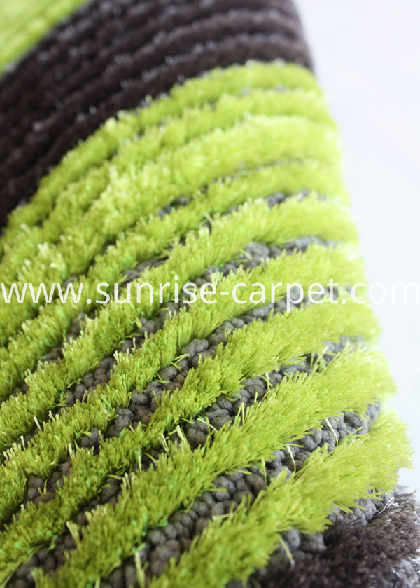 Polyester Silk with Loop Carpet