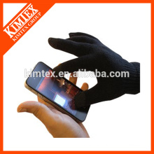 Guantes de acrílico del tacto del iphone de la manera