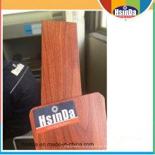 O efeito de madeira personalizado / revestimento de madeira do pó da grão aplicou-se pelo processo da transferência térmica