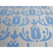 Pâtes moussantes pour l'impression textile