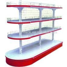 Стальная складская стойка для хранения супермаркетов / бытовая складская стойка / регулируемая металлическая стойка