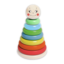Big Stacking Tower Wooden Toy for Kids and Children