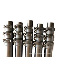 Made in China High stiffness carbon fiber telescopic pole / telescoping tubing