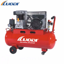 italy type belt driven piston air compressor 2HP 100L