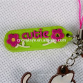 Promotional 3D Pvc Mobile Phone Lanyard