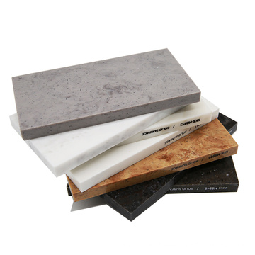 2440x1220x12mm Artificial Stone Korean Marble Pattern Viened Color Acrylic Resin Solid Surface Sheet Slab For Sale