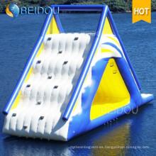Popular Durable Giant Adult inflables piscina flotante tobogán de agua