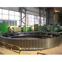 Grand anneau de vitesse adapté aux besoins du client par OEM pour le broyeur à boulets