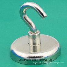 Крюк-магнит (постоянный редкоземельный элемент NdFeB)