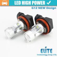 O projeto novo brilhante super 30w H8 H10 conduziu bulbos leves automotivos da substituiço