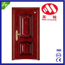 Puerta exterior del metal de la seguridad del acero de China Yongkang con alta calidad