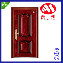 China Yongkang Steel Security Exterior Metal Door with High Quality
