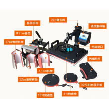 8 in 1 Combo Heat Transfer Machine