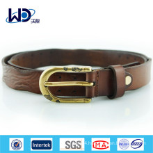 Classical Genuine Cowhide Leather Belt for Men