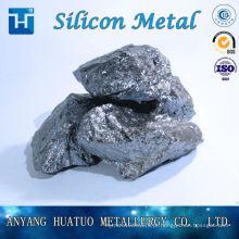 Silício metálico 99% para liga de alumínio / lingote 441