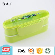 caixa de almoço durável da caixa do bento dos miúdos da qualidade da primeira classe com chopsticks